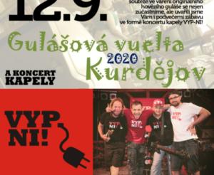 Koncert 12.9.2020 Kurdějov